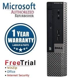 Refurbished Dell OptiPlex 780 USFF Intel Core 2 Duo E8400 3.0G 8G DDR3 320G DVD Win 7 Pro 64 Bits 1 Year Warranty