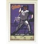 Curt Schilling Arizona Diamondbacks 2002 Fleer Authentic Baseball Autographed Card  Awesome Autogra