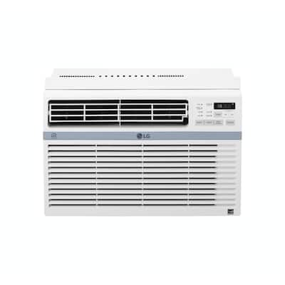 """LG LW8017ERSM 20"""" Energy Star Rated Window Air Conditioner in White"""