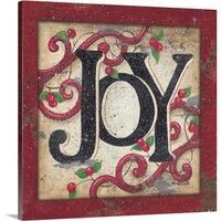 Kim Lewis Premium Thick-Wrap Canvas entitled Joy