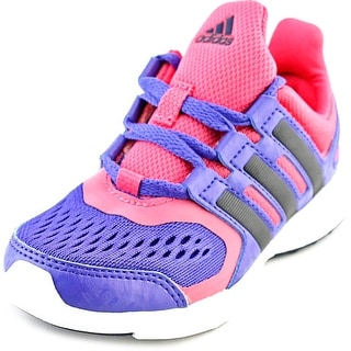Adidas Hyperfast 2.0 K Round Toe Canvas Sneakers