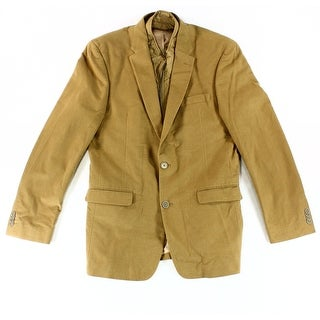 Tommy Hilfiger NEW Beige Mens Size 40 Notched Two Button Sport Coat