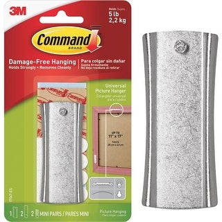 3M Command Stck Nail Hanger 17047ES Unit: EACH