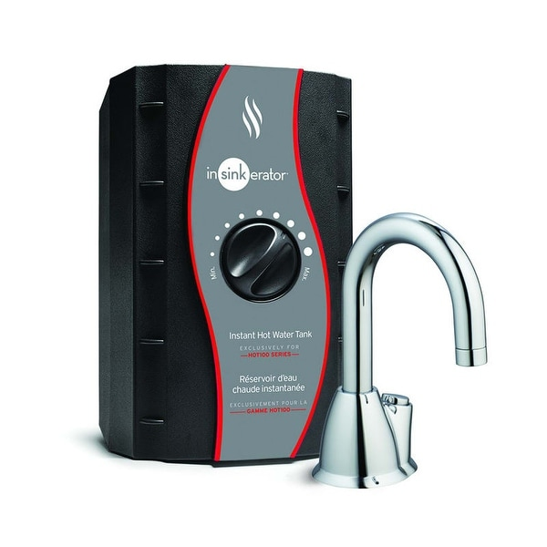 InSinkErator H-HOT100 Invite Instant Hot Water Dispenser with 1-Year In-Home Warranty - Tank Included