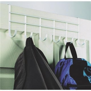 Spectrum White Over Door Rack 62700 Unit: EACH