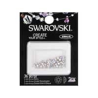 Cousin Swarovski Elements Hotfix 3mm Crystal AB 36pc