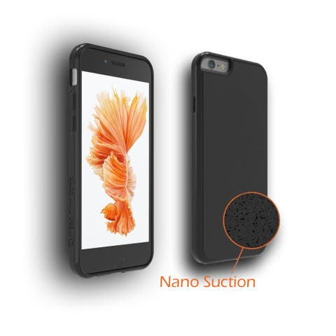 Indigi® Anti Gravity Selfie NanoSticky Suction Holder Case Cover For iPhone 6 Plus/6S Plus