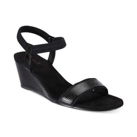 94e0cb9918b Alfani Womens Giselle Open Toe Casual Ankle Strap Sandals - 10