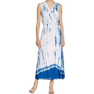 XCVI Womens Niccolite Sundress Tie-Dye Sleeveless