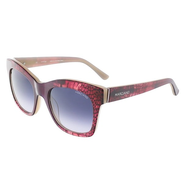 Guess by Marciano GM0728 75B Burgundy Gradient Cat Eye sunglasses - 51-20-135