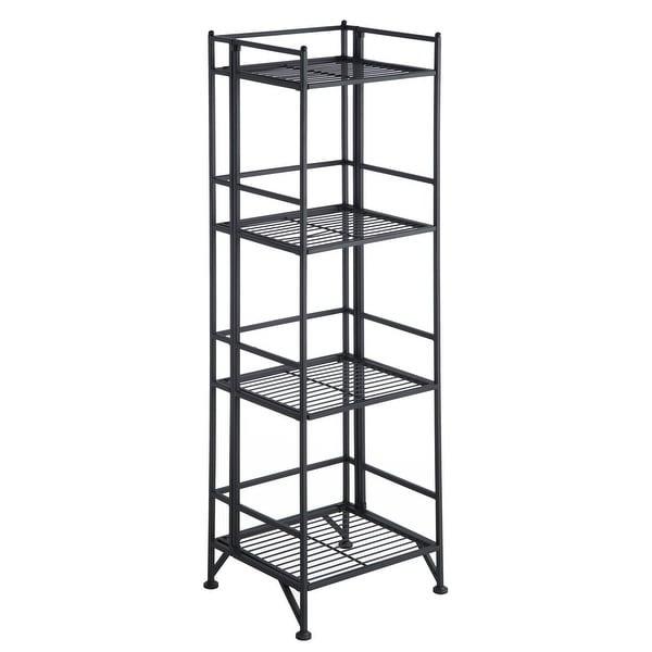Porch & Den Ferdinand 4-tier Folding Shelf