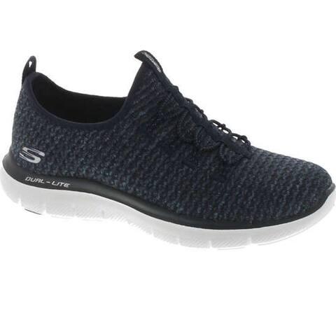 Skechers Women's Flex Appeal 2.0 - Passports Loafers & Slip-Ons Shoe - Navy