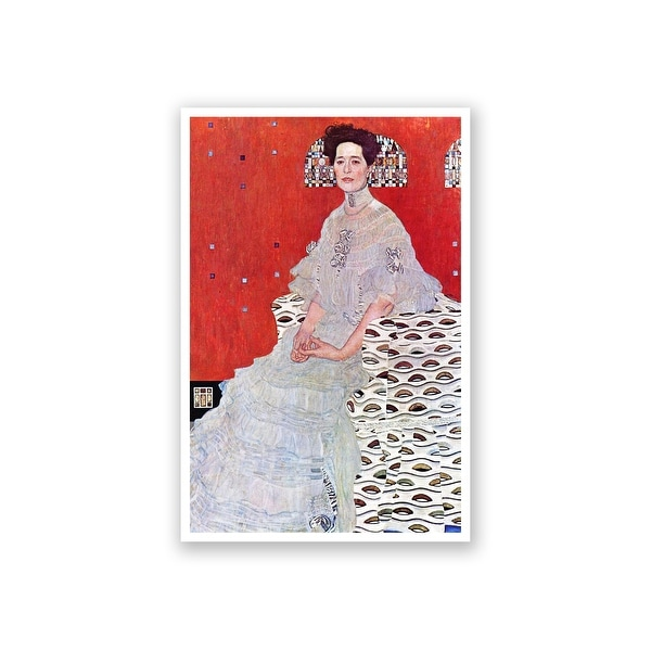 Fritza Reidler Klimt - Gustav Klimt Fine Art Collections Matte Poster 16x24