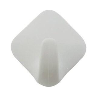 InterDesign 16001 Self Adhesive Wardrobe Hook, White
