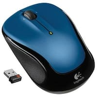 Logitech 910-002650 Wireless Mouse M325 (Blue)