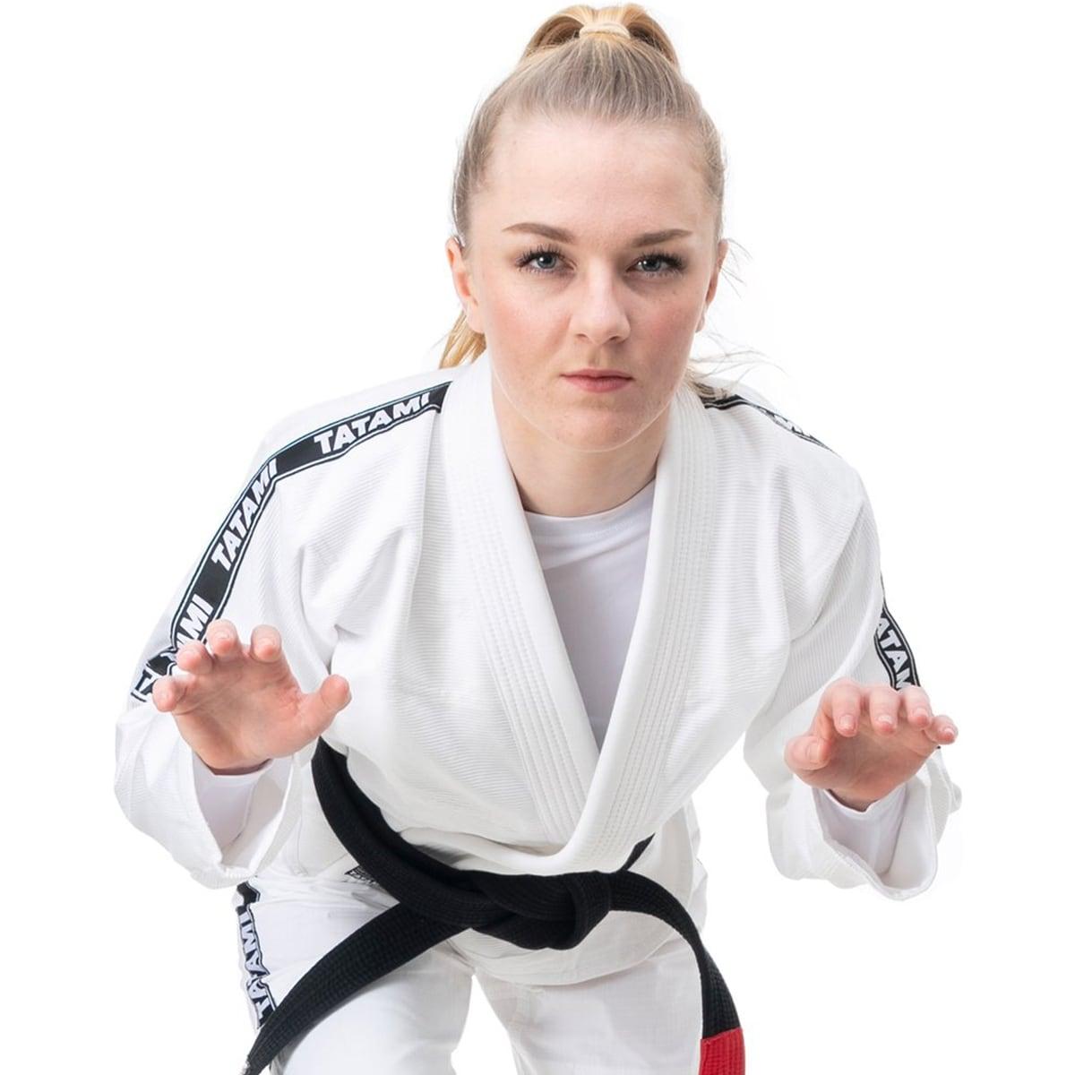 White Tatami Fightwear Women/'s Essential BJJ Gi