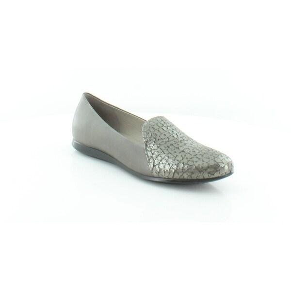 91b621a8 Shop Ecco Touch Ballerina 2.0 Women's FLATS Warm Grey - 7.5 - Free ...