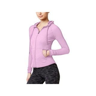Calvin Klein Performance Womens Athletic Jacket Textured Quick Dry