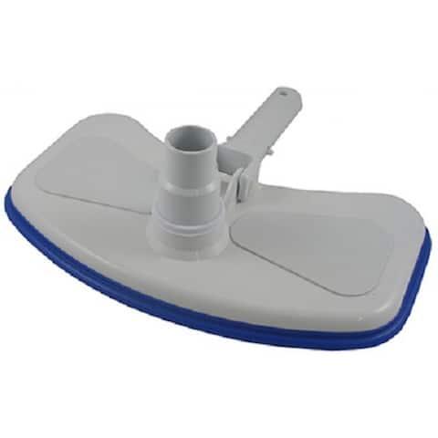 JED Pool Tools 30-171 Vinyl Liner Pool Vacuum with Brush & Bumper