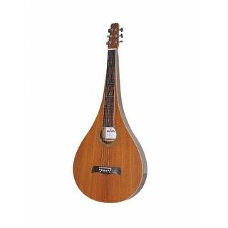 ADM JW331T Acoustic Weissenborn Guitar, Teardrop