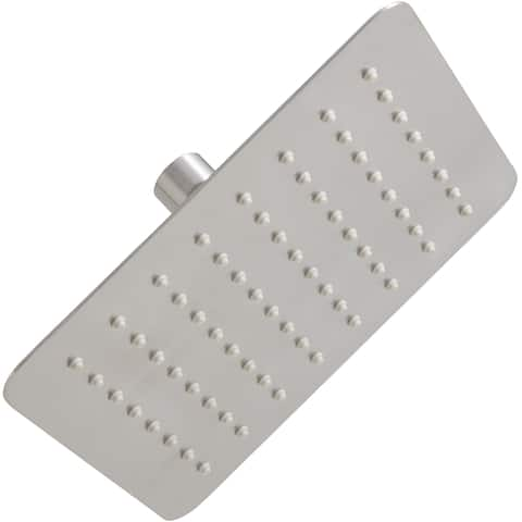 Mirabelle MIRRS825S 2.5 GPM Single Function Square Rain Shower Head -