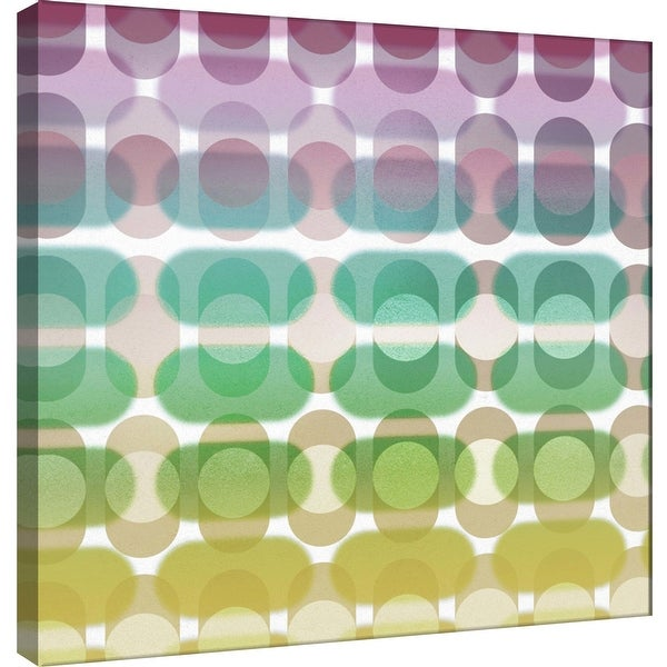 """PTM Images 9-101075 PTM Canvas Collection 12"""" x 12"""" - """"Transitions H"""" Giclee Abstract Art Print on Canvas"""