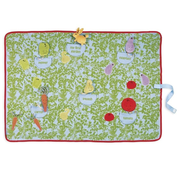 "Garden Hop Activity Blanket Mat by North American Bear Co. - 36"" x 26"""