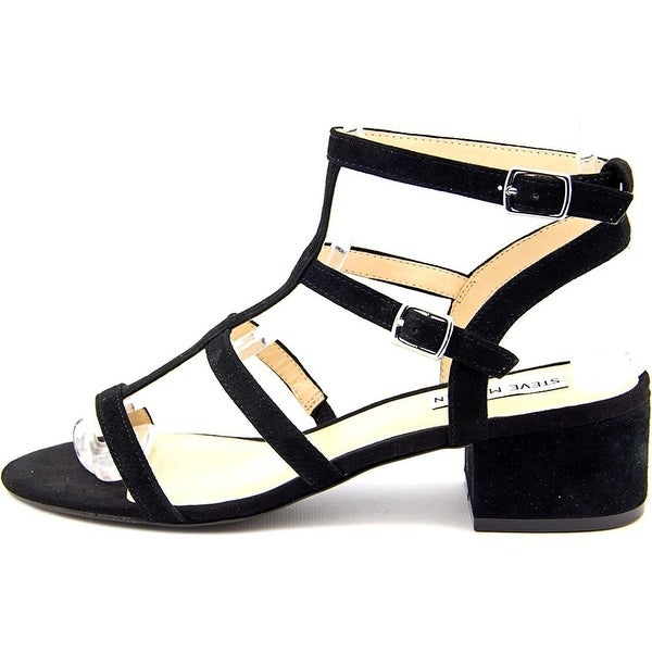 Steve Madden Womens luccile Open Toe Bridal Ankle Strap Sandals