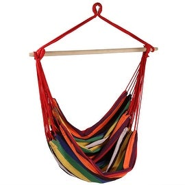 Sunnydaze Jumbo Hanging Chair Hammock Swing