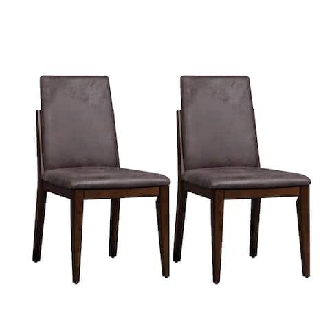 Ventura Boulevard Espresso Uph Side Chair (Set of 2)