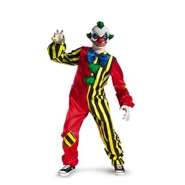 Creepy Circus Clown Child Costume Medium (7-8)