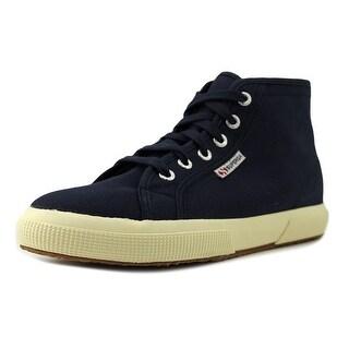 Superga Cotu Classic Women Round Toe Canvas Blue Sneakers