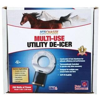 Farm Innovators C-250 IceChaserA¢ Premium Cast Aluminum Utility De-Icer, 250W