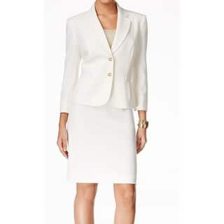 Tahari By ASL NEW White Crepe Women's Size 10 Pencil Skirt Suit Set|https://ak1.ostkcdn.com/images/products/is/images/direct/9d16f4dce573828e69496fdd4f774ca02ff87612/Tahari-By-ASL-NEW-White-Crepe-Women%27s-Size-10-Pencil-Skirt-Suit-Set.jpg?impolicy=medium