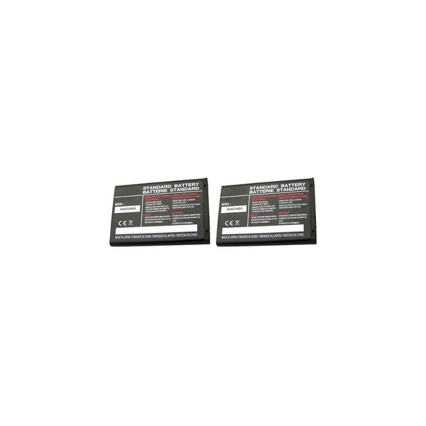 Replacement For Samsung AB463446BA Mobile Phone Battery (800mAh, 3.7v, Li-Ion) - 2 Pack