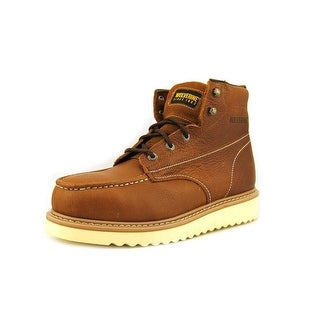 Wolverine Work Wedge ST Men EW Steel Toe Leather Brown Work Boot