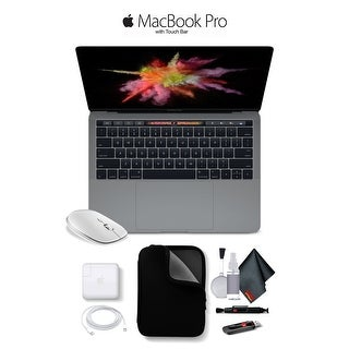 "Apple 13"" MacBook Pro, Retina Display, 2.3GHz Intel Core i5 Dual Core, 8GB RAM, 128GB SSD, Space Gray, MPXQ2LL/A"