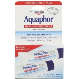 Aquaphor Healing Skin Ointment, Advanced Therapy, 2 Pack, 0.35 oz ea
