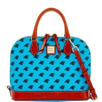 Dooney & Bourke NFL Carolina Panthers Zip Zip Satchel (Introduced by Dooney & Bourke at $248 in Aug 2016)