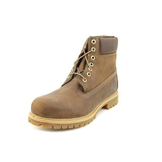 "Timberland Heritage Classic 6"" Premium   Round Toe Leather  Boot"