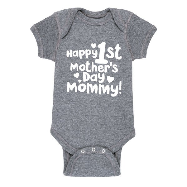 Happy 1St Mothers Day Mommy - Infant One Piece
