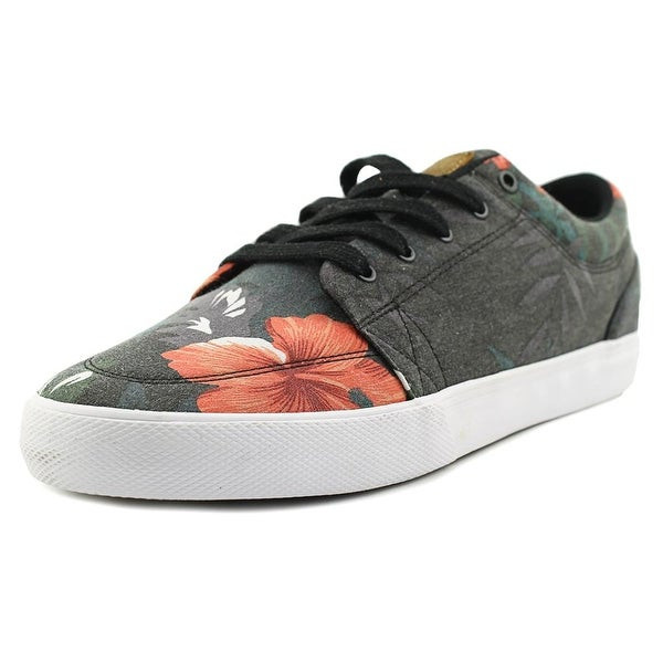Globe GS Skateboard Men Round Toe Canvas Black Skate Shoe