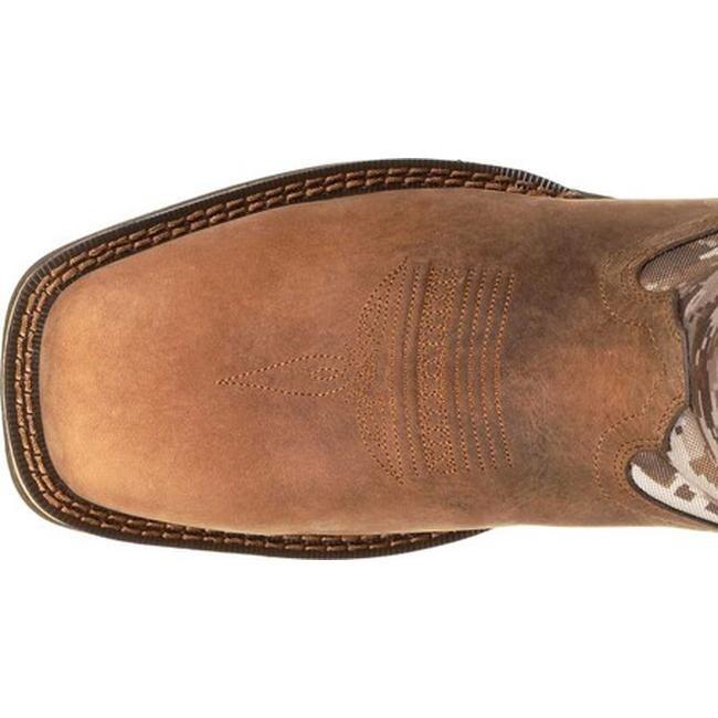 0fd2abb6dba Durango Boot Men's DDB0166 Rebel Desert Camo Western Cowboy Boot Dusty  Brown/Desert Camo Full Grain Leather/Nylon