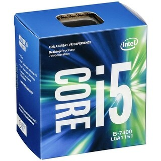 NEW - New Intel Core i5-7400 Kaby Lake 4-Core Processor 3GHz 3.5GHz max BX80677I57400