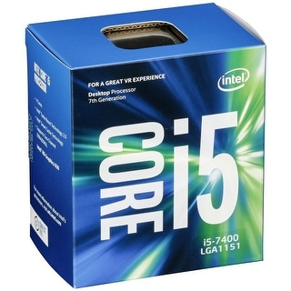 New Intel Core i5-7500 Kaby Lake Quad-Core 3.4GHz LGA 1151 65W BX80677I57500