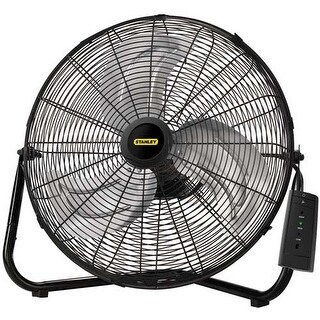 Lasko Products 655650B 20-Inch High Velocity Floor or Wall mount Fan