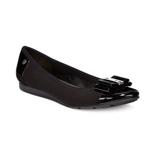 Anne Klein Sport Womens Aricia Bow Round Toe Flats