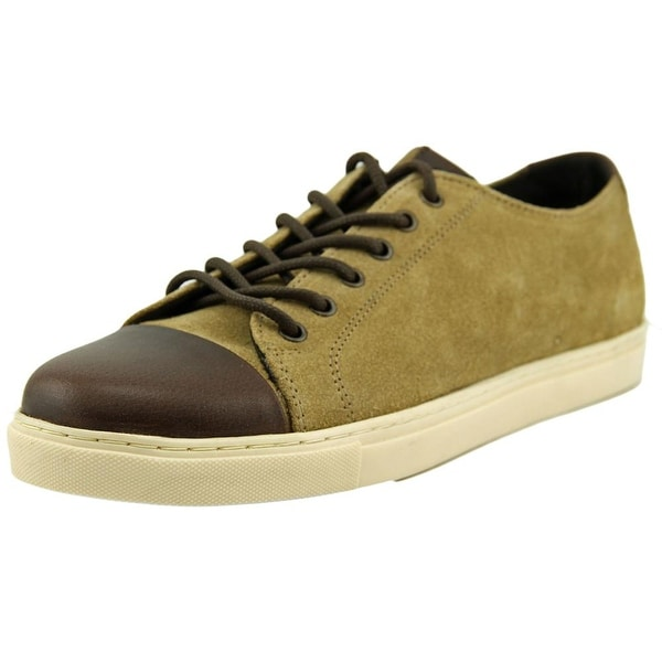 Crevo Quinton Men Suede Tan Fashion Sneakers