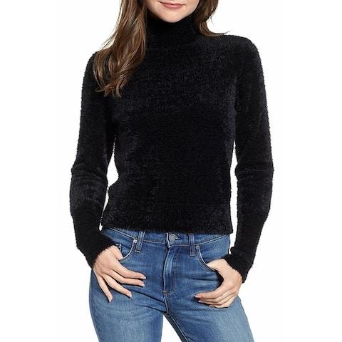 Leith Women's Eyelash Knit Pullover Sweatshirt