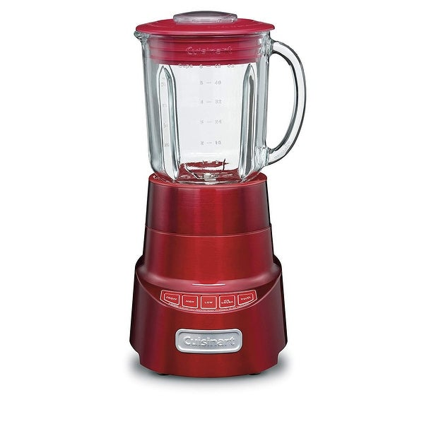Cuisinart SPB-600MRFR 4 Speed SmartPower Deluxe Die Cast Blender; Red, Certified Refurbished